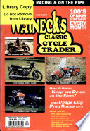 Walneck S Classic Cycle Trader April 2000