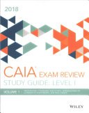 Wiley Study Guide for 2018 Level I CAIA Exam  Complete Set  print