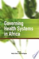 illustration du livre Governing Health Systems in Africa