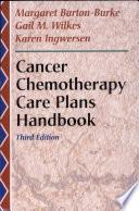 Cancer Chemotherapy Care Plans Handbook