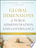 Global Dimensions Of Public Administration And Governance : global dimensions of public administration and...
