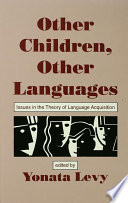 Other Children  Other Languages