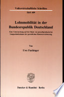 Lohnmobilität in der Bundesrepublik Deutschland