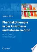 Pharmakotherapie in der An  sthesie und Intensivmedizin