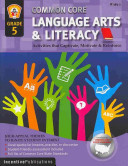 Common Core Language Arts Literacy Grade 5