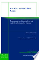 Éducation and the Labour Market
