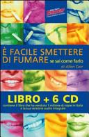 facile smettere di fumare se sai come farlo  Audiolibro  6 CD Audio  Con libro