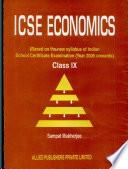 Icse Economics For Class Ix