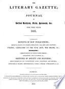 The London Literary Gazette And Journal Of Belles Lettres Arts Sciences Etc