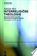 Interreligiöse Theologie