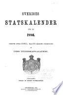 Sveriges statskalender