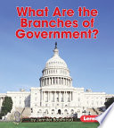 What Are the Branches of Government