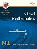 A Level Maths for AQA   Mechanics 1  Student Book