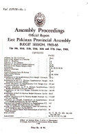Assembly Proceedings Official Report