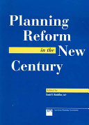 Planning Reform in the New Century