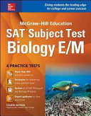 McGraw Hill Education SAT Subject Test Biology E M 4th Ed