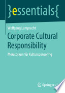 Corporate Cultural Responsibility