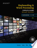 Keyboarding and Word Processing  Complete Course  Lessons 1 110  Microsoft Word 2013  College Keyboarding