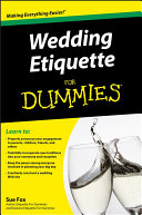 Book Wedding Etiquette For Dummies