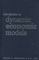 Introduction to Dynamic Economic Models