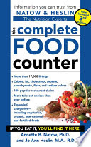 The Complete Food Counter  3rd Edition
