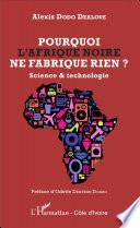Pourquoi l Afrique noire ne fabrique rien