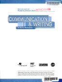 Communication & writing