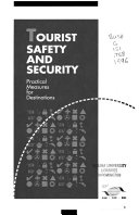 Tourist Safety And Security book