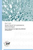 Droit fiscal et commerce électronique