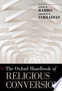 The Oxford Handbook of Religious Conversion