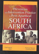 Prevention and intervention practice in post apartheid South Africa