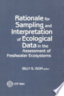 rationale-for-sampling-and-interpretation-of-ecological-data-in-the-assessment-of-freshwater-ecosystems