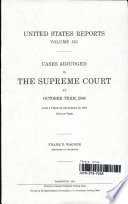 United States Reports Volume 551: Cases Adjudged in The Supreme Court at October Term, 2006