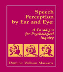 download ebook speech perception by ear and eye pdf epub