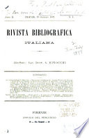 Rivista bibliografia italiana