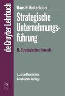 Strategische Unternehmungsf  hrung