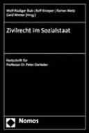 Zivilrecht im Sozialstaat