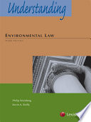 Understanding Environmental Law  Third Edition  2013