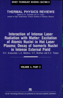 Interaction of Intense Laser Radiation with Matter