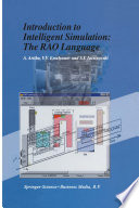 Introduction to Intelligent Simulation  The RAO Language