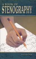 A Book of Stenography