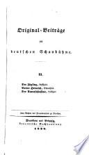 Original-Beiträge zur deutschen Schaubühne