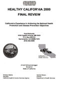 Healthy California 2000 Final Review Book PDF