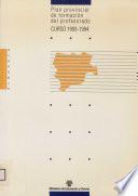 Plan provincial de formación del profesorado. Curso 1993-1994. Dirección Provincial de Albacete
