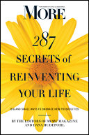 MORE Magazine 287 Secrets of Reinventing Your Life