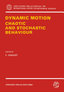 download ebook dynamic motion: chaotic and stochastic behaviour pdf epub