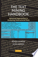 The Text Mining Handbook Computer Science Research That Tries