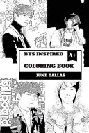 Bts Inspired Coloring Book