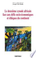 Le deuxième synode africain face aux défis socio-économiques et éthiques du continent