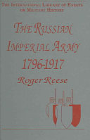 The Russian Imperial Army  1796 1917